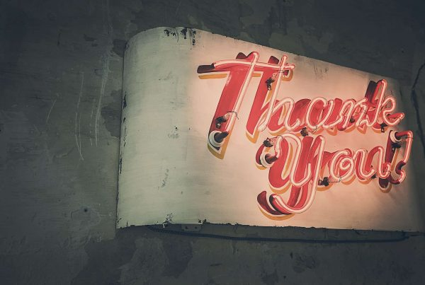 thank-you sign