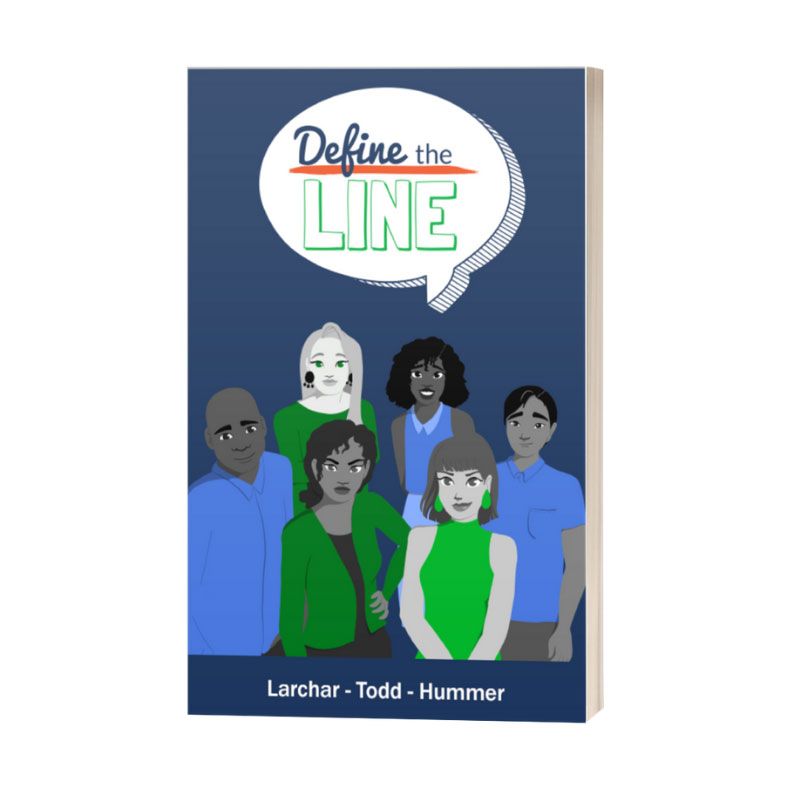 Define the Line comic book
